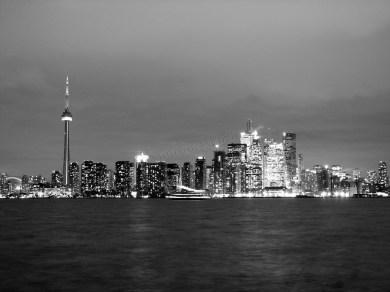 Toronto - Vue depuis l'ïle