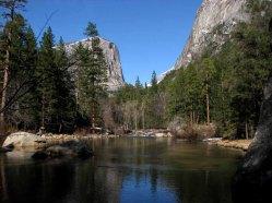 Californie - Parc National Yosemite - Trail 'Mirror Lake'
