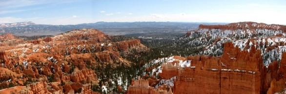 Utah - Parc national Bryce - Panorama