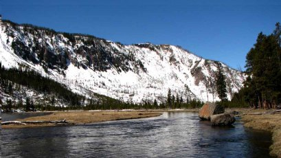 Wyoming - Yellowstone - Sur la route de Madison - Madison River