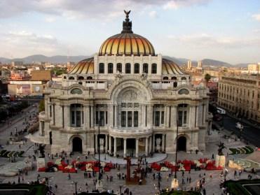 Mexico - Mexico DF - Downtown - Palacio de Bellas Artes