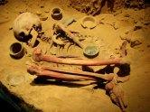 Mexico - Téotihuacan, restes humains