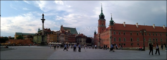 Varsovie - Place du château