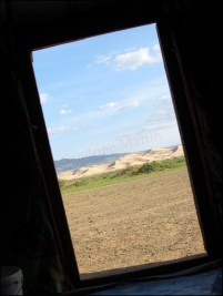 Dunes de sable 'Khongor' - vue