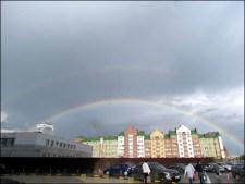 Kazan - Au hasard des rues, arc-en-ciel