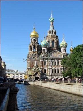 Saint-Pétersbourg - Cathédrale Saint-Sauveur-sur-le-Sang-Versé