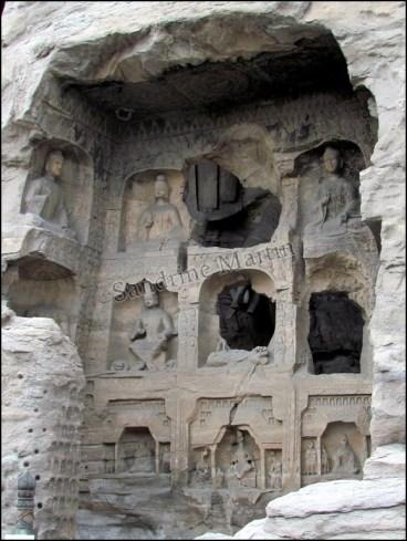 Datong - Grottes de Yungang - Grotte n° 14