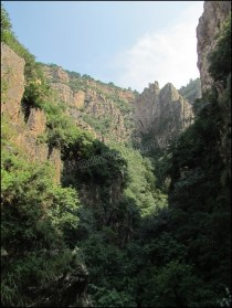 Mont Hengshan, vue