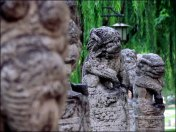 Xi'An - Parc 'Tang Dynasty Qujiang Pool Relics', statues