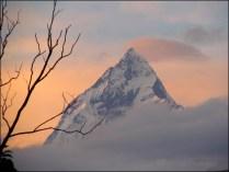 Pokhara - Vue sur la chaine de l'Himalaya