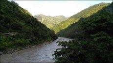 Rivière Trisuli - Paysage