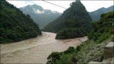 Sur la route de Pokhara