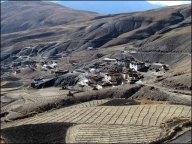 Himalaya - Vallée de Spiti - Sur la route de Kaza, village