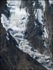 Himalaya - Vallée de Spiti - Sur la route entre le lac Chandra Tal et Kaza - Col de 'Kunzum Pass', 4590 m, vue