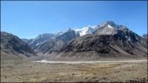 Himalaya - Vallée de Spiti - Sur la route entre 'Rohtang Pass' et lac Chandra Tal