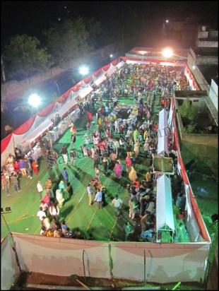 Khajuraho - Mariage, buffet