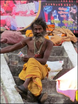 Rishikesh - Au hasard des rues, baba