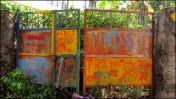 Rishikesh - Au hasard des rues, portail
