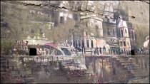 Varanasi - Ghat 'Chet Singh', graffitis