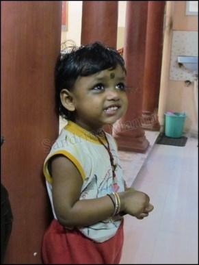 Varanasi - Guest House Jioty, enfant