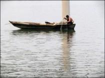 Varanasi - Rivière 'Gange', bateaux