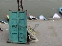 Varanasi - Rivière 'Gange', porte sur l'inconnue