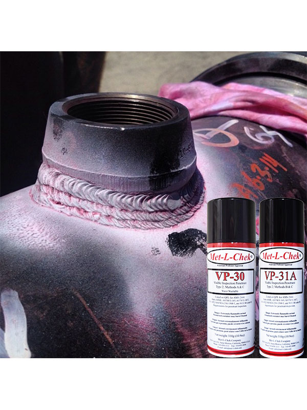 Met-l-Chek   Penetrant and Magnetic Particle Inspection