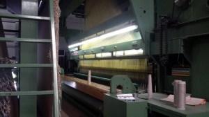 Weefmachine voor de productie van tapijten