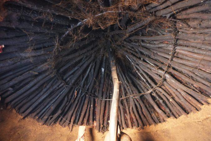 天井の骨組み