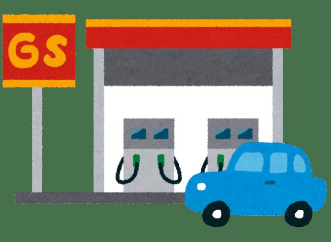 アフリカのガソリンスタンド