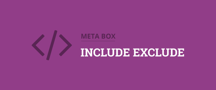 include exclude wordpress meta boxes for specific pages, templates, categories