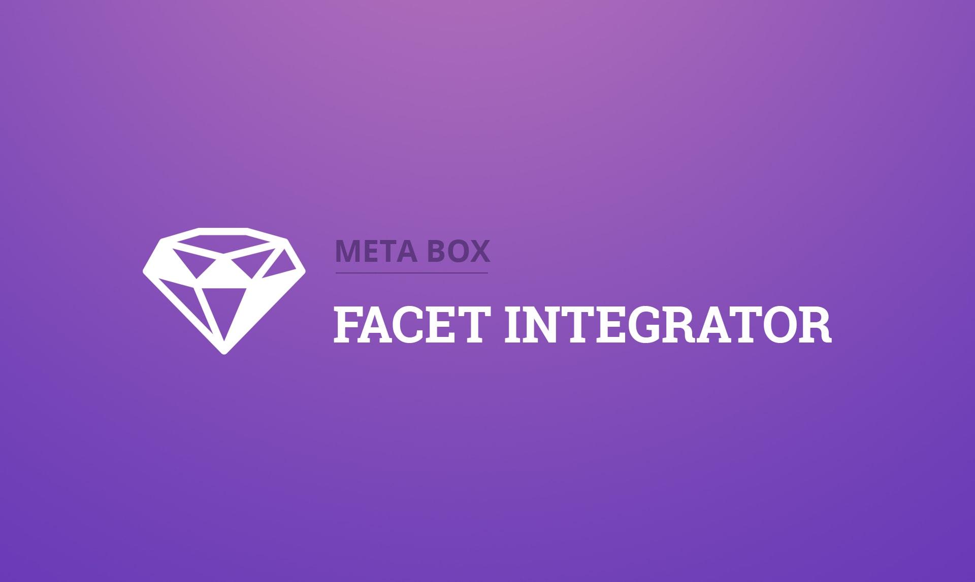 Meta Box - FacetWP Integrator