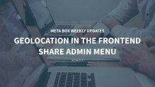 geolocation frontend shared menu