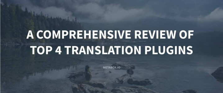 A Comprehensive Review of Top 4 Translation Plugins