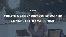 How to Create a Subscription Form and Connect It to Mailchimp with MB Frontend Submission