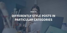 How to Differently Style Posts in Particular Categories