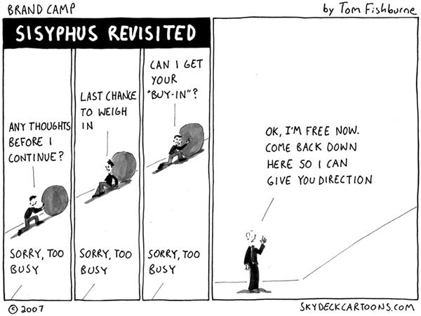 Sisyphus revisited