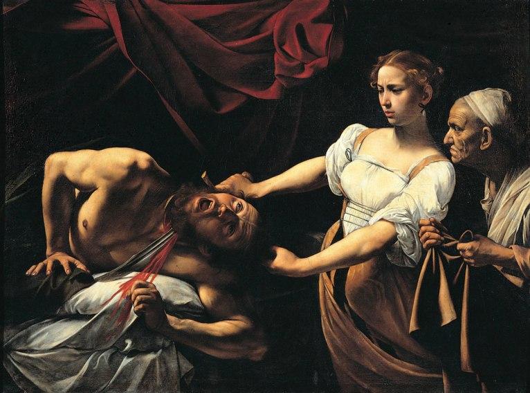 Judith decapitando a Holofernes