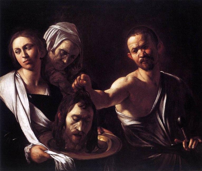Salome con la cabeza de Juan el bautista