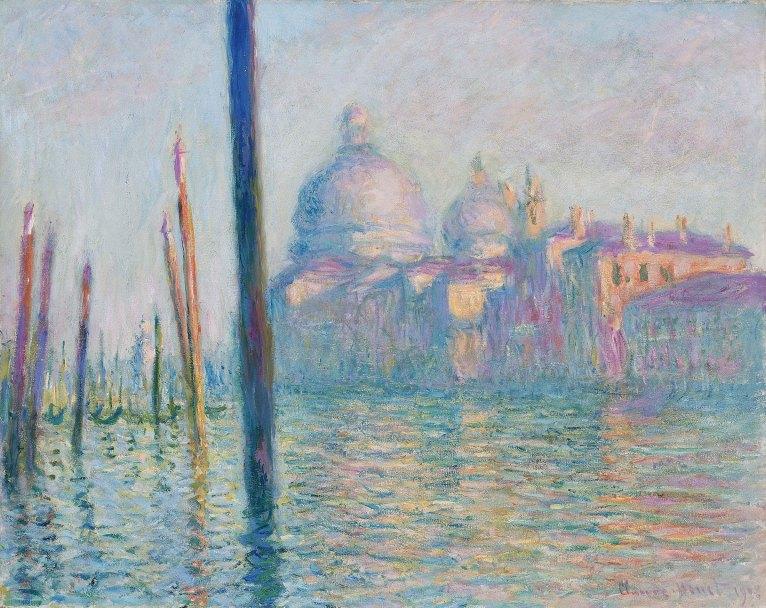 El gran canal, Claude Monet.