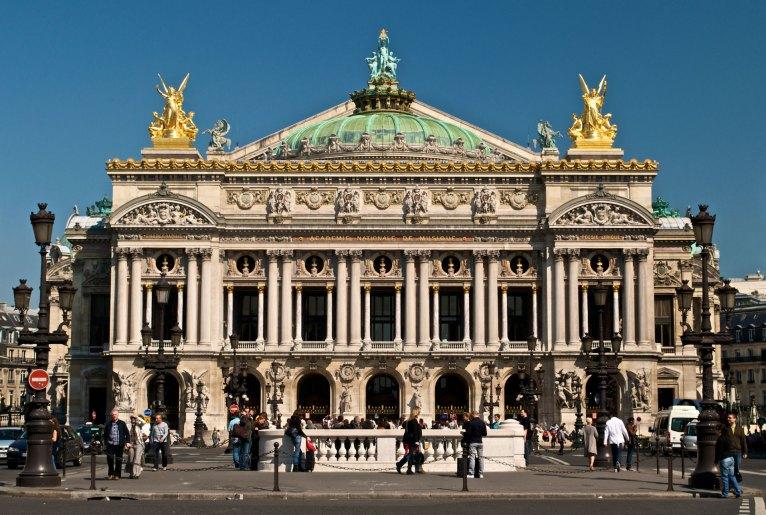 Ópera Garnier, Charles Garnier.