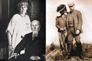 Николай Рерих и его жена Елена