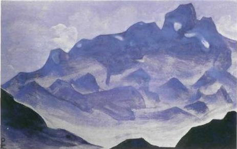 Картина Н.К.Рериха. Тимур Хада 1935