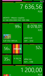 mBank na Windows Phone
