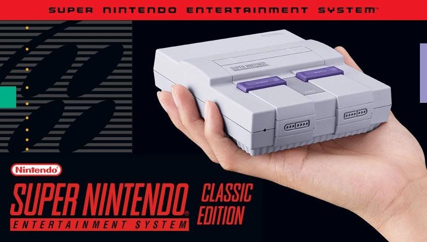 lançamento nacional do SNES Classic