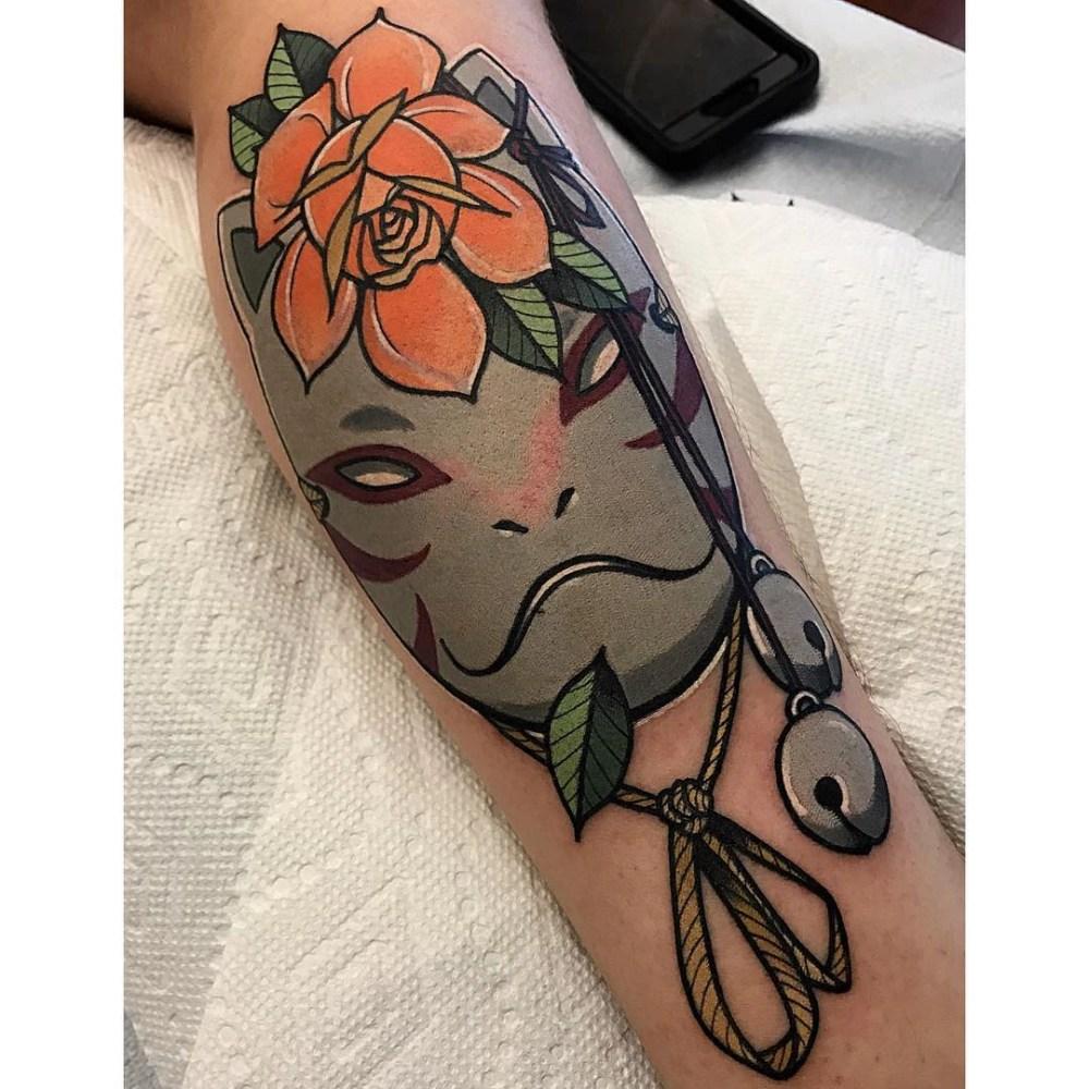 Top 10 Tatuagens de Naruto