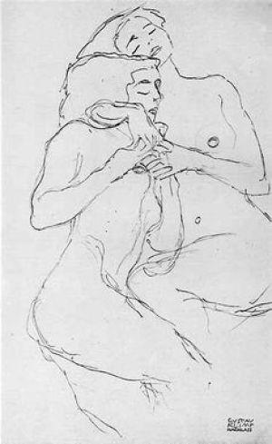 Dibujo Gustav Klimt
