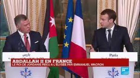 REPLAY - Le roi de Jordanie Abdallah II reçu à l''Élysée par Emmanuel  Macron - YouTube