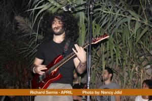 Richard Samia (Guitarist) from APRIL