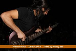 Anthony Atwe (Bassist) from TURBULENCE
